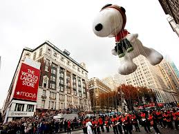 Watching the Macy's Day Parade