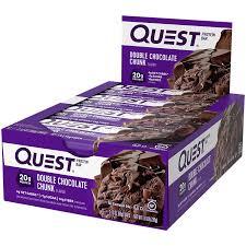 <b>Quest Bar</b> - <b>DOUBLE</b> CHOCOLATE CHUNK (12 Bar(S)) by Quest ...