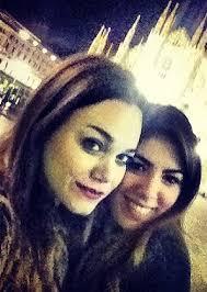 Romina Carrisi posta sul social una foto insieme a Brigitta Cazzato, la figlia che Loredana Lecciso ha avuto giovanissima dall'ex marito Fabio Cazzato, ... - 1384353882_