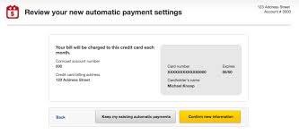 a ux analysis of credit card uis mike knoop further it seems comcast only lets you keep one number on file so you don t need to worry about removing the old card information