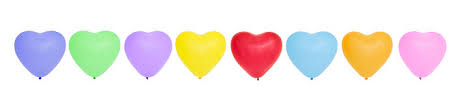 Image result for clipart row of hearts