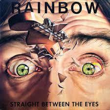 a closer look at <b>rainbow's</b> '<b>straight between</b> the eyes'