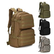 <b>50L Outdoor Tactical</b> Backpack Molle <b>Military Army</b> Camping Hiking ...