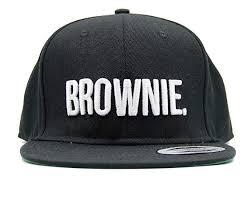 Brownie Snapback <b>Fashion Embroidered</b> Snapback Caps <b>Hip</b>-<b>Hop</b> ...