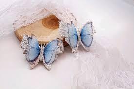 Заколочки для девочки Бабочки на зажиме <b>Заколки бабочки</b> ...