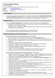 yuvraj singh electrical engineer resume years exp