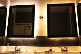 image bathroom mirror masterbath mirror framed in bathroom add wishlist middot baumhaus mobel