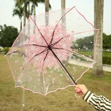 <b>New</b> Sakura <b>Umbrella</b> Transparent Clear <b>Classic</b> Cherry Rain ...