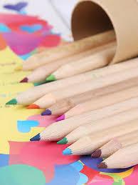 Buy Kid's Colored Pencils Set 12Pcs Colorful Painting Pencils Set ...