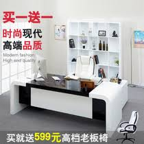 stylish office furniture office boss white paint tables simple and modern executive desk executive desk manager boss tableoffice deskexecutive deskmanager