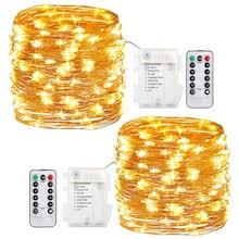 LED <b>Copper</b> String Lights - Gearbest