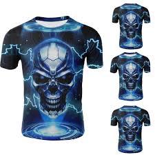 <b>Men's</b> Summer New Trend 3D <b>Creative</b> Digital Printing <b>Short Sleeve</b> ...
