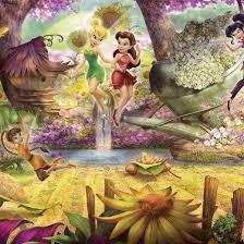 4-416-<b>Fairies</b>-Forest <b>Фотообои</b> Komar <b>Disney</b> 1.27х3.68 м - купить ...