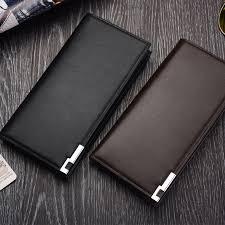 Men's Long Wallet <b>Korean Multi</b>-<b>function</b> Business <b>Card Wallet</b> ...