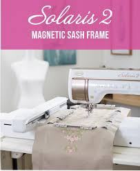 <b>NEW Magnetic</b> Sash Frame 8 x 14 Hoop - Solaris <b>Upgrade</b>