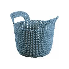 <b>Корзинка круглая Curver</b> Knit 230*190*190 мм, арт. 03671 Цвет ...
