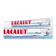 <b>Зубная паста LACALUT Мульти</b>-<b>Эффект</b>, 75 мл. — купить в ...