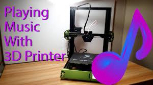 <b>3D Printer</b> Plays Music - Harry Potter, Star Wars, AC/<b>DC</b>, Jurassic Park