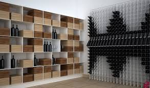 wall hanging wine rack wine cellar contemporary with custom made wine racks custom wine rack metal box version modern wine cellar furniture