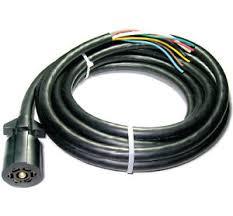 7 way trailer cord universal molded trailer light plug wiring harness 7 way rv 4 cord 10110 048