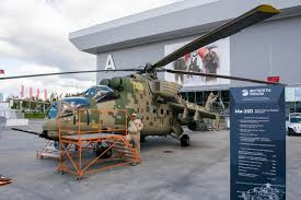 Ростех представил обновленные вертолеты <b>Ми</b>-<b>35М</b> и Ми-35П