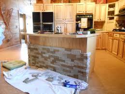 awesome stone veneer kitchen island