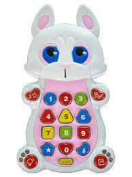 Детская развивающая музыкальная игрушка <b>PlaySmart Телефон</b> ...
