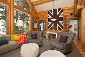 Lodge Living Room Decor Lodge Living Room Decorating Ideas Contemporary Craftsman Style