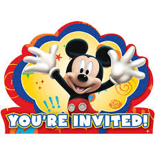 mickey mouse birthday invitations mickey mouse birthday mickey mouse birthday invitations