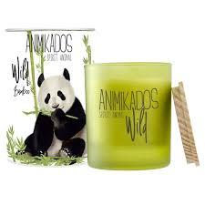 <b>Свеча ароматическая Ambientair Panda</b> бамбуковый - цена, фото ...