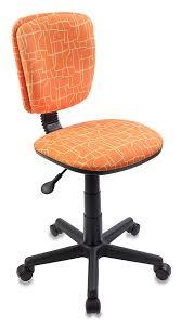 Купить <b>Кресло</b> детское <b>БЮРОКРАТ CH</b>-<b>204NX</b>, <b>оранжевый</b> в ...