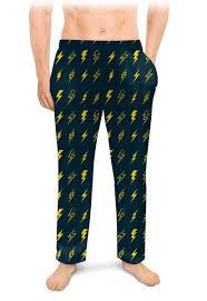 <b>Мужские пижамные штаны</b> Молния #2681350 – заказать ...
