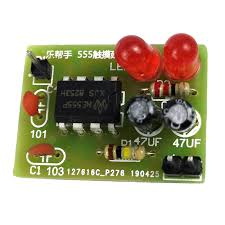 <b>ONEHP</b> 555 Touch Delay Switch Kit <b>Electronic</b> Teaching Experiment ...