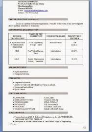 best resume of electronics and communication engineer fresherresume format      middot  download resume format
