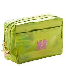 Jeffree Star Cosmetics Makeup Bag <b>Holographic Alien</b> Yellow ...
