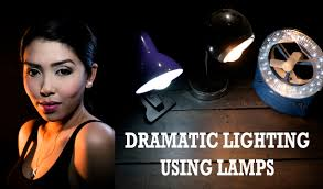 How To: Dramatic Portrait Lighting Using Nothing But <b>Lamps</b> - DIY ...
