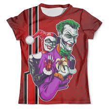 """Футболка с полной запечаткой (мужская) """"Harley Quinn & The ..."""