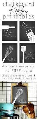 kitchen solution feecdff free chalkboard style kitchen art printables the cottage market by reg