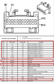 saturn l300 radio wiring diagram saturn wiring diagrams online