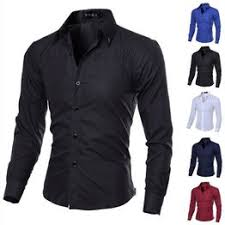 5-color Large Size New Men's Long-sleeved Fashion Casual ... - Vova