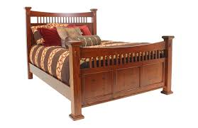 oak queen bedroom set furniture  san mateo oak queen bed media image