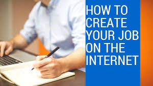 how to create your own job on the internet by darcy ogandaga part how to create your own job on the internet by darcy ogandaga part i