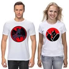 """<b>Парные футболки</b> c необычными принтами """"batman"""" - <b>Printio</b>"""