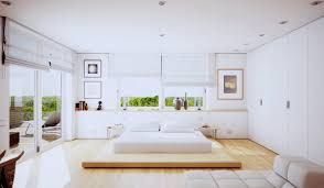 bedroom design idea:   white bedroom design