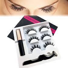 Hot 5 <b>Magnet Eyelash</b> Magnetic <b>Liquid</b> Eyeliner & Magnetic False ...