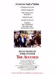 the accused of extra large movie poster image imp awards extra large movie poster image for the accused 2 of 2