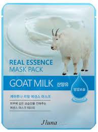 <b>Тканевая маска с</b> козьим молоком, 25 мл, Juno — купить в ...