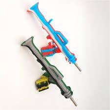 Bong Dab Rig Bubbler AK47 Shape Silicone Nectar Collector+9ml ...