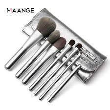 MAANGE Travelling <b>Makeup</b> Brushes <b>7 PCS</b> Make up Brush Set ...