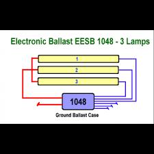 allanson eesb 1048 26l 120 277v electronic fluorescent sign ballast